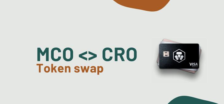 Swap MCO vers CRO